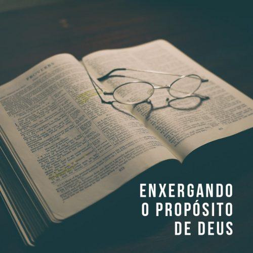 ENXERGANDO O PROPÓSITO DE DEUS